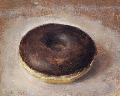 chocolade donut / chocolate donut
