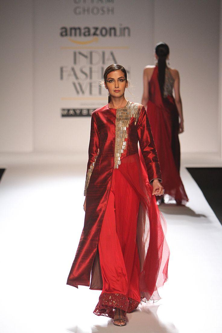 Amazon India Fashion Week Autumn/Winter 2016 | Kiran Uttam Ghosh #AIFW2016 #autumnwinter #PM