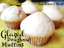 Glazed Doughnut Muffins make the yummiest breakfast!