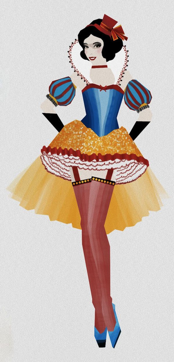 Burlesque Disney Princesses | Liam Thinks!: Disney Princesses Reimagined As Moulin Rouge Dancers