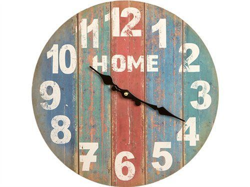 Reloj Pared Vintage Home 34 cm   18125MD