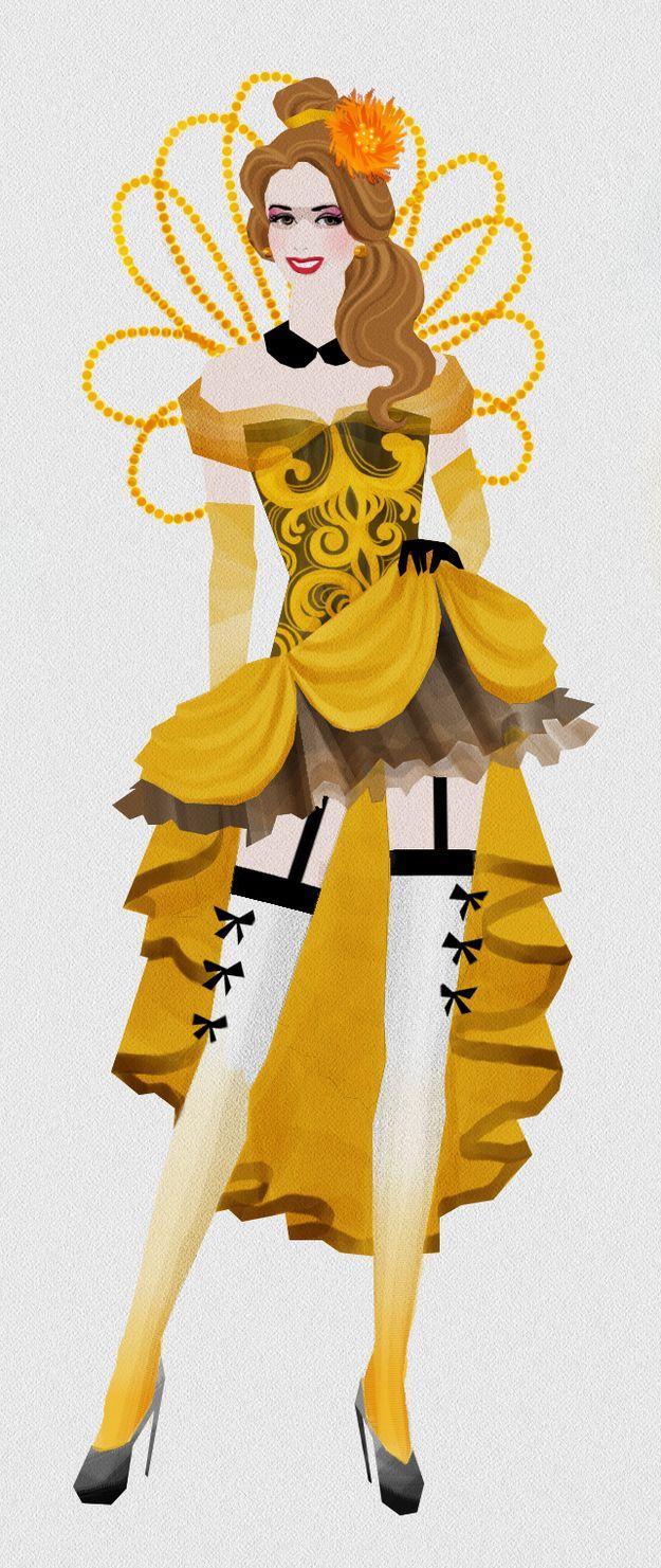 Belle Burlesque Showgirl