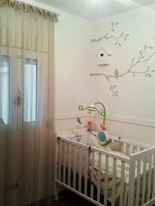 Pintura mural infantil personalizada / Children´s personalized mural paint.