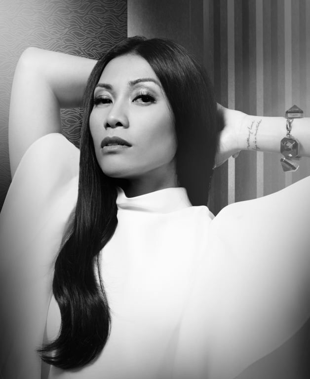 Anggun in Gucci for InStyle Indonesia Cover Story Anniversary Issue
