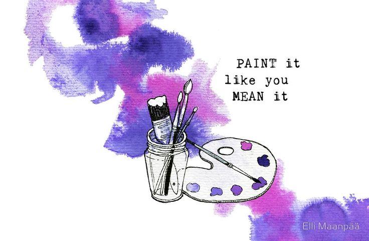 Paint It Like You Mean It