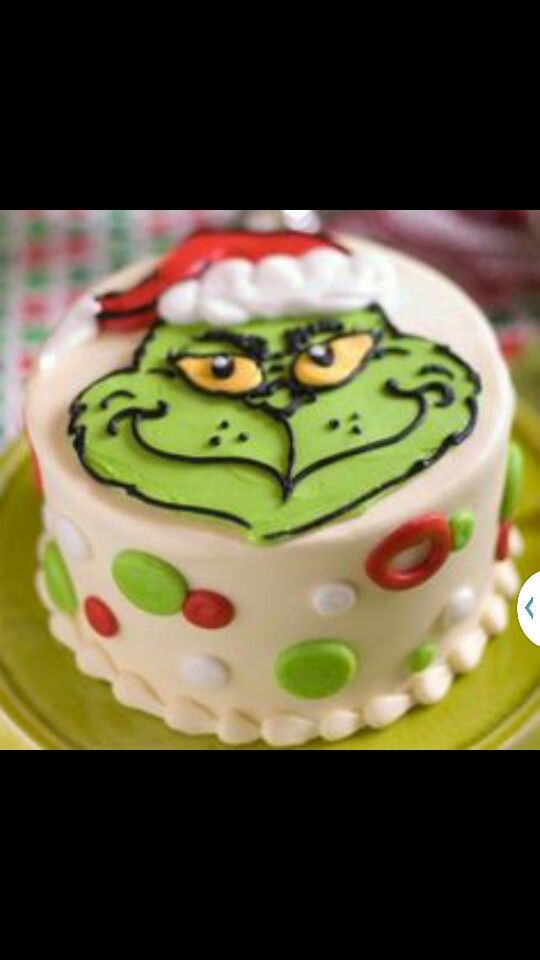 Dyi grinch cake