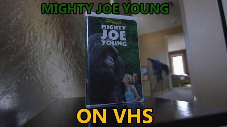 Mighty Joe Young on VHS