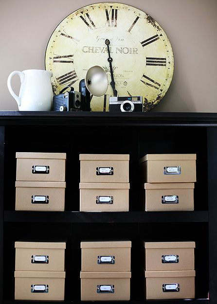 How to organize photos   A Bowl Full of Lemons Instead of using a bunch of albums, here are some great ways to organize all those photos you have laying around