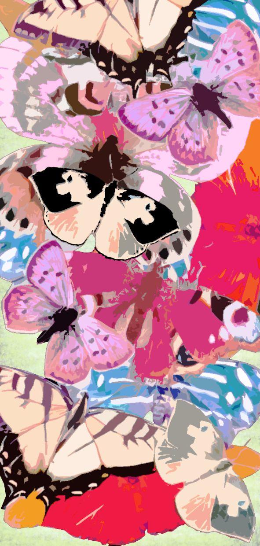 xx..tracy porter..poetic wanderlust- animals in art-butterflies