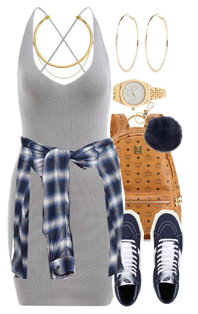 """""""Untitled #1388"""" by lulu-foreva ❤ liked on Polyvore featuring Forever 21, MCM, Michael Kors, Miharayasuhiro, River Island and OBEY Clothing"""