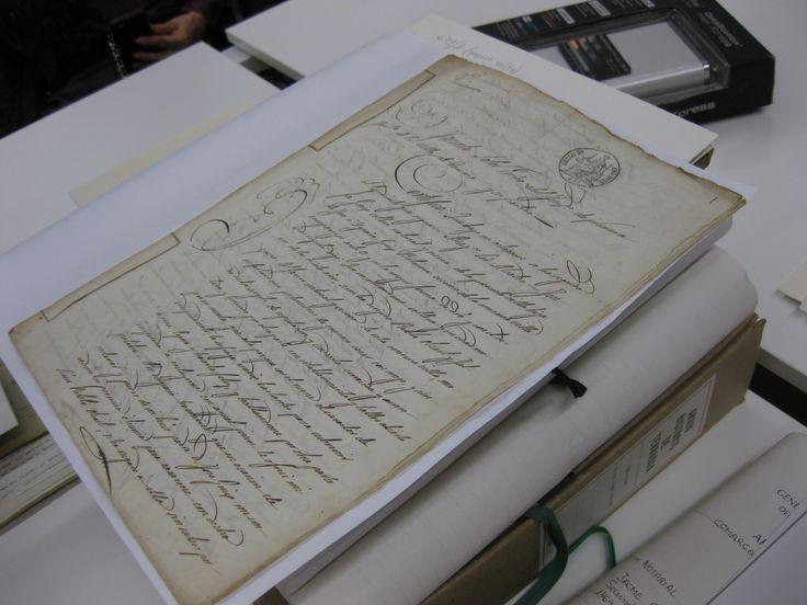 Document del segle XIX en què una noia demanà un 'segrest', una figura jurídica mitjançant la qual demanava permís per casar-se malgrat la prohibició del seu pare.