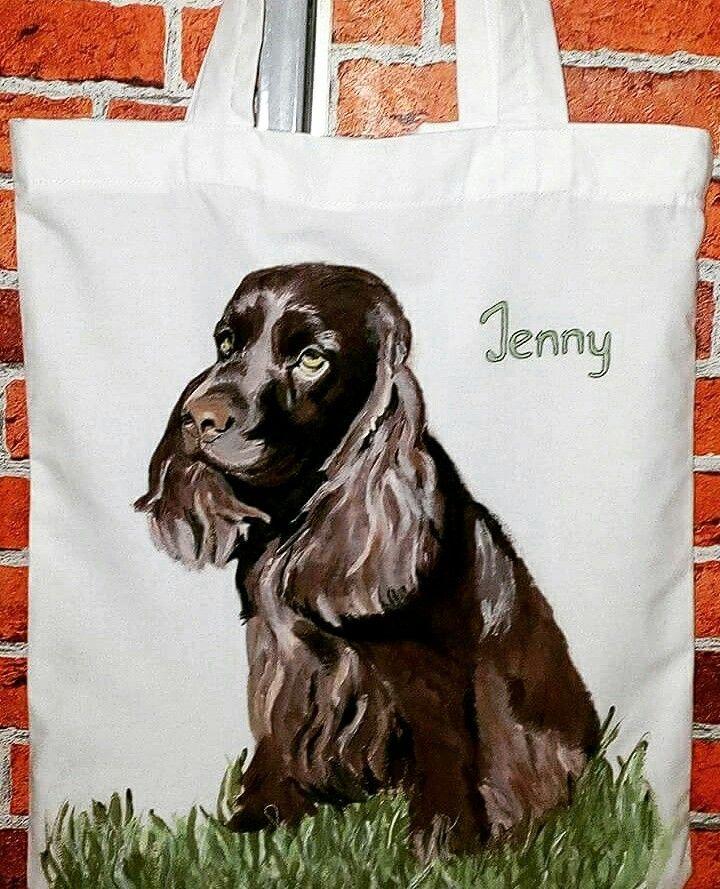 Jenny :-) taška malovaná na zakázku