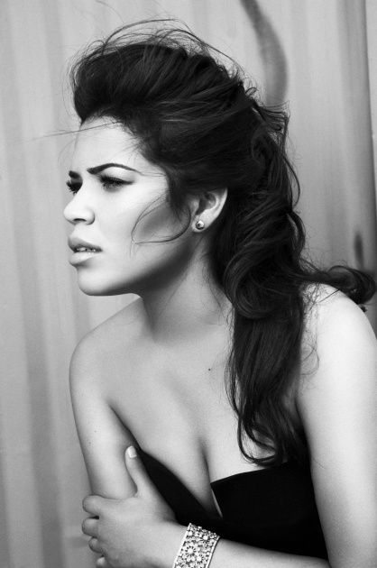America Ferrera by Nino Muñoz. I'm obsessed with her entire look in this pic.