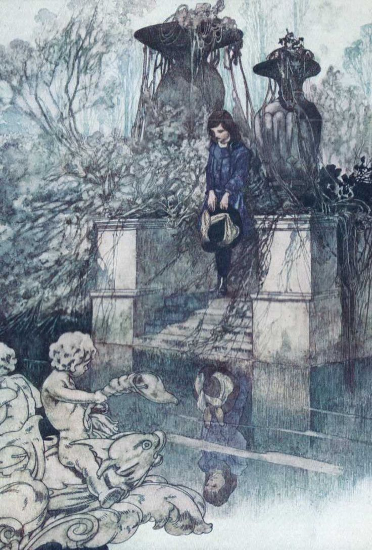 THE SECRET GARDEN by Frances Hodgson Burnett. One of the classic illustrations by Charles Robinson. http://www.amazon.com/dp/B00UXNM4JO