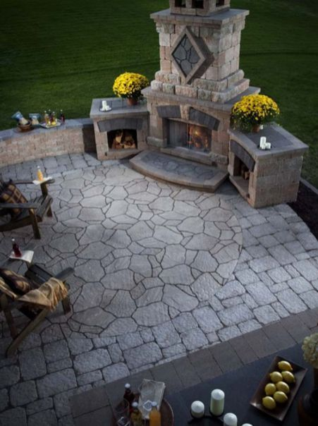 Superior 50+ Marvelous Rustic Outdoor Fireplace Designs For Your Barbecue Party