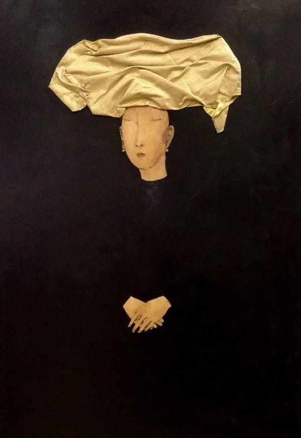 Женщина в чёрном. ZORIKTO DORZHIEV