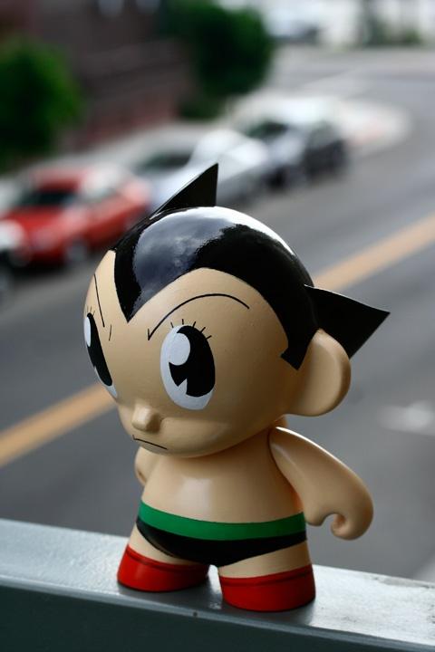 Astro Boy Munny Doll