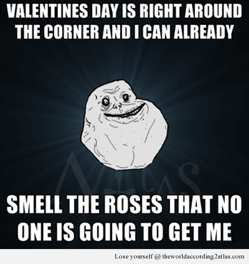 single guy valentines day