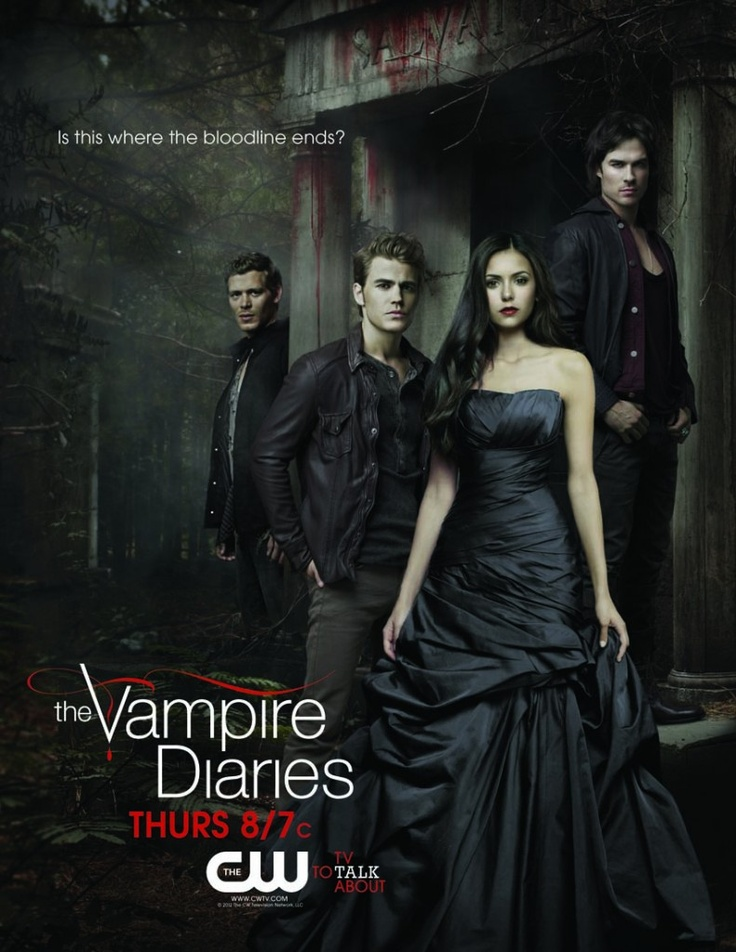 My favorite tv show is The Vampire Diaries