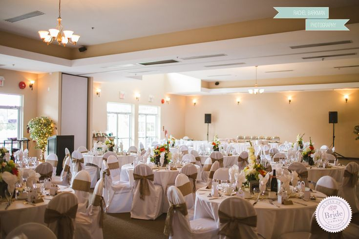 Fort Langley Golf Course wedding reception venue in Langley BC. Photo by Rachel Barkman Photography as seen on BRIDE.Canada
