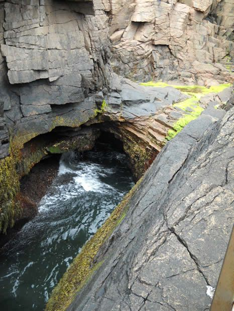 Thunder Hole is just one of the sights to explore at Acadia