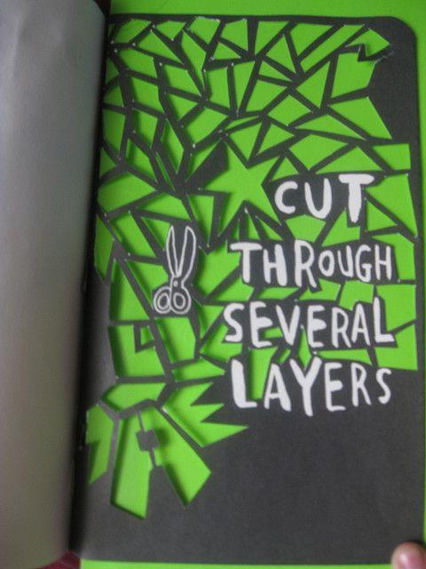 Cut through several layers by . L A M O R A L E J A ., via Flickr
