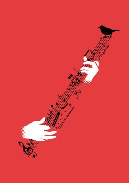 String instrument Art Print by Budi Satria Kwan http://society6.com/product/String-instrument_Print#