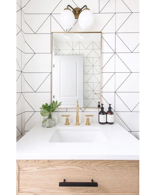 Powder Rooms Are Kind Of Like One Hit Wonders For Us Here On