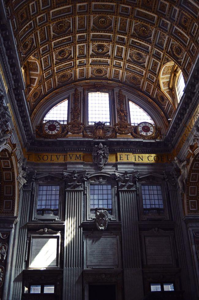 St. Peter's Basilica #Vatican #Michelangelo #GianLorenzoBernini #DonatoBramante