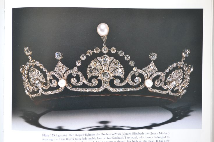 Lotus Flower Tiara, worn by Queen Elizabeth, the Queen Mother