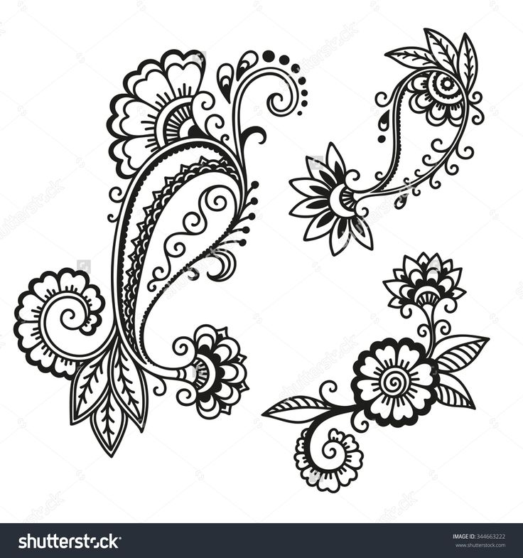 45 Best Images About Intermediate Henna Designs On Pinterest