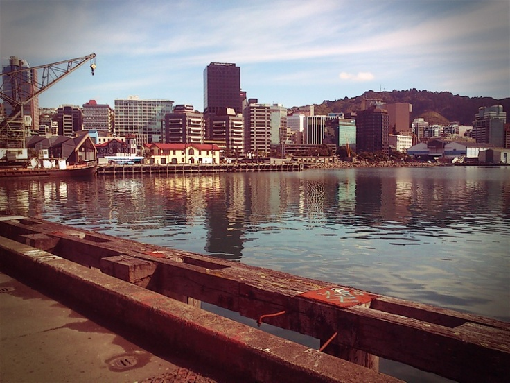 Wellington waterfront, NZ