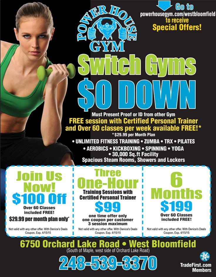 Fitness 19 coupons michigan