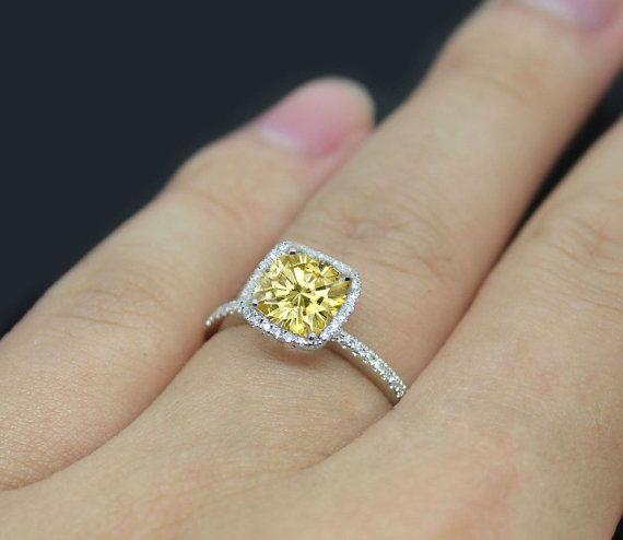 114 Best Moisannite Vs Diamond Images On Pinterest