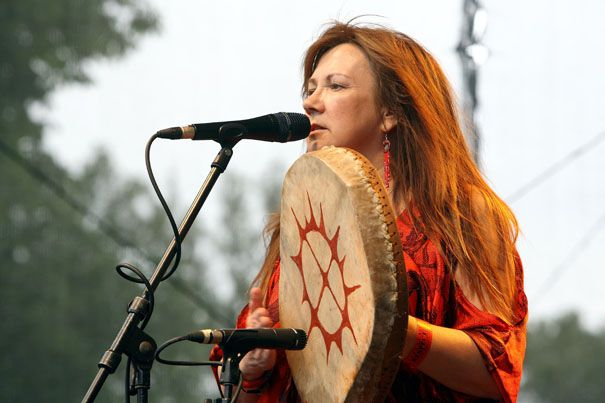 Mari Boine is a Norwegian Sami musician known for having added jazz and rock to the yoiks of her native people.