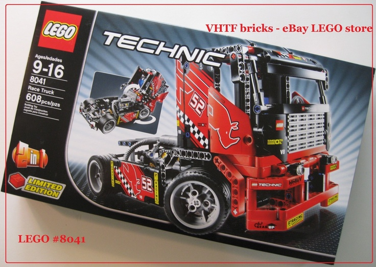 lego technic 8041 race truck 2 in1 car limited edition. Black Bedroom Furniture Sets. Home Design Ideas