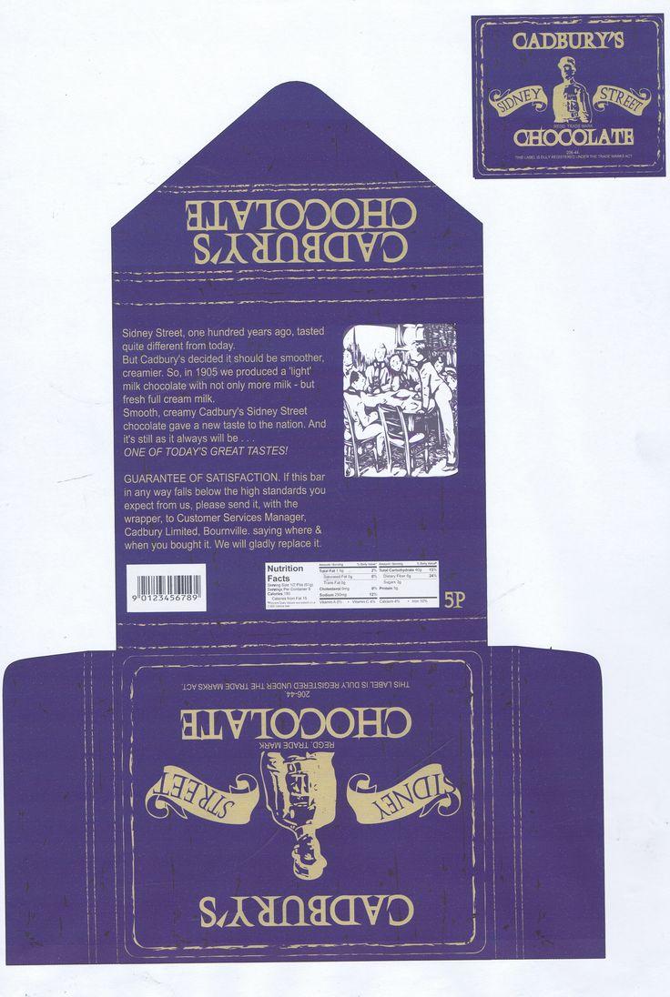 Cadbury Packaging Design Level 3 Extended Diploma
