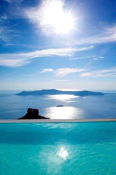 Endless Blue   Santorini