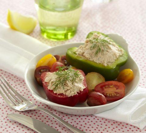 LCHF opskrift | Peberfrugter med fyld