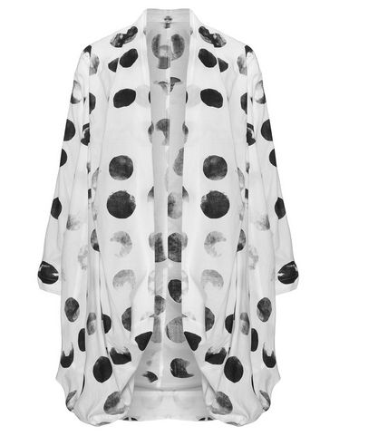 Mode Große Größen Damen, Moyuru Mode In Großen Größen Und Unsere Shop Empfehlung, Polka Dot Motive Beeindruckt Hübsch Und Viel Mochte