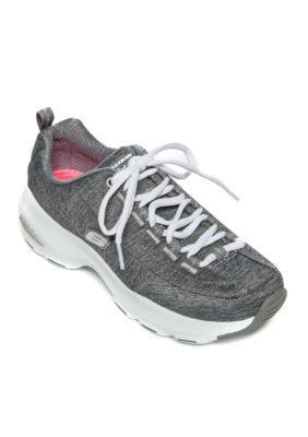 Skechers Women's D'lites Ultra Meditative Athletic Shoe - Gray - 9.5M