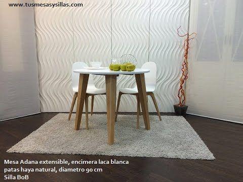 1000 ideas sobre mesas redondas de madera en pinterest for Mesas redondas de diseno