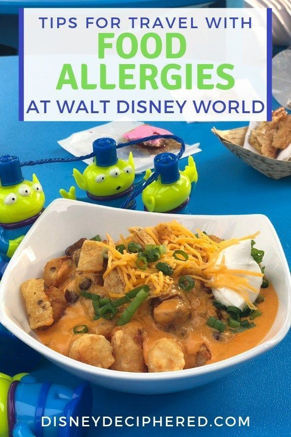 Going to Disney World with Food Allergies