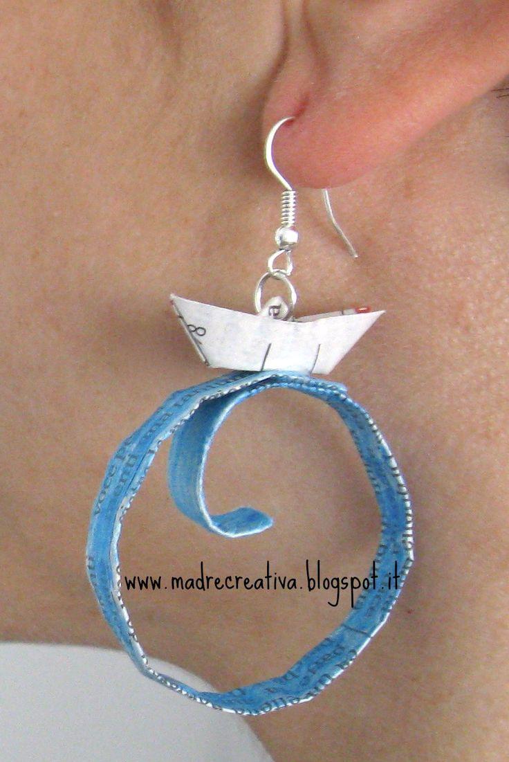 Oltre 1000 idee su orecchini fai da te su pinterest - Portaorecchini fai da te ...