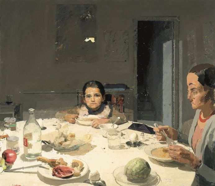 "Antonio Lopez Garcia, ""The Dinner"""