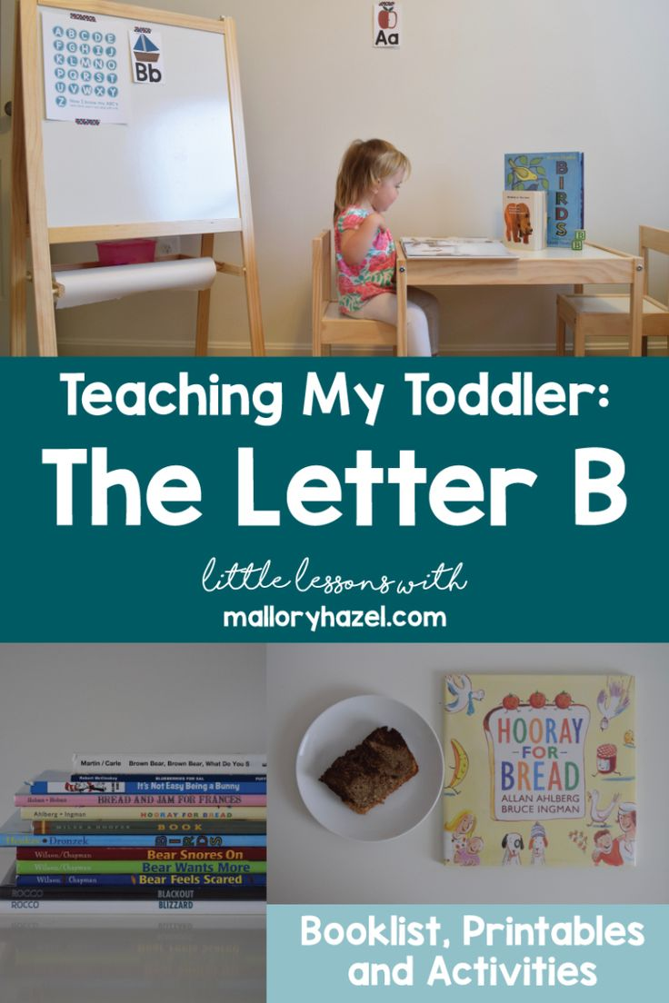 Teaching My Toddler | The Letter B. The Letter B Booklist. Our favorites books to use when learning about the letter B. Free the letter B Printable. The Letter B activities for toddlers. Homeschool. Preschool. Tot school. Tools for teaching. Educational Freebies. Reading List. Letter of the Week.