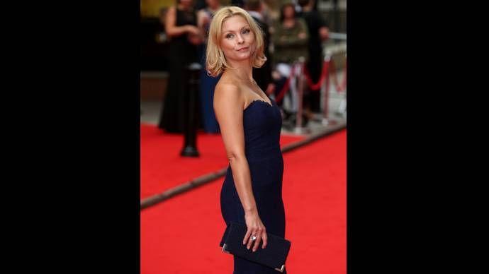 Downton Abbey Stars at BAFTA Tribute | Season 6 | Myanna Buring (Edna)