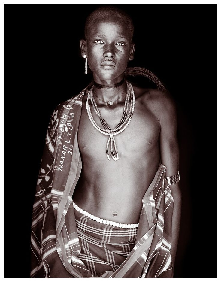 'Arjan' - Ethiopia's Omo valley, Arbore warrior by John Kenny