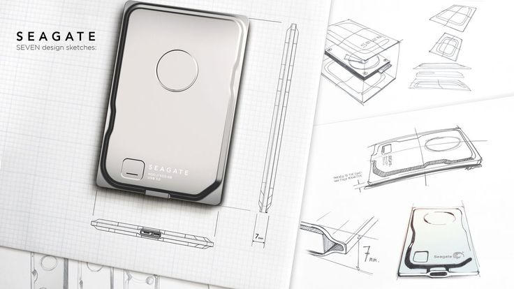 Seagate Seven is the world's thinnest and most beautiful portable hard disk