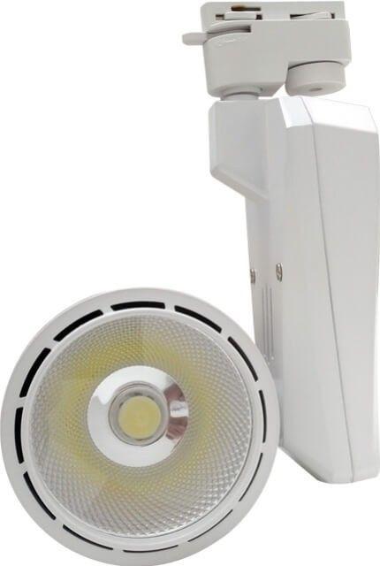 Cu reglarea pe verticala a directie de iluminare, SPOTUL LED 30W ALB RECE, se monteaza usor pe sina speciala si poate da viata obiectivelor pe care doriti sa le puneti in valoare in magazinul sau showroom-ul dumneavoastra.